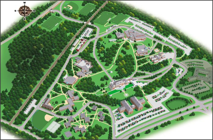 Fairleigh Dickinson Florham University Campus Map. Related Images: http://hubhomedesign.com/florham-campus-fairleigh-dickinson-university-fdu