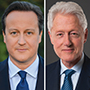 New Jersey Speakers Series 2017-2018 line-up included former prime minister of England David Cameron and former president Bill Clinton