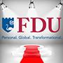 Image: FDU mark with new tagline